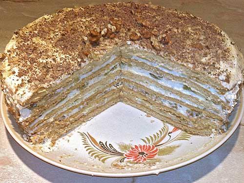быстрый торт рецепт из коржей