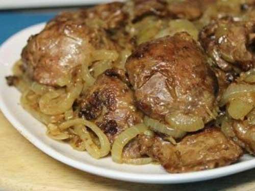 Рецепты печень в сметане