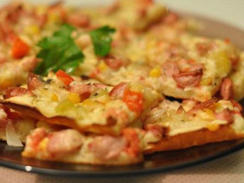 рецепт приготовления теста для пиццы на кефире