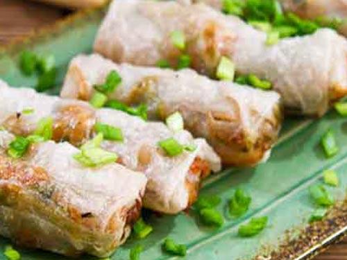 Спринг роллы (лумпия) с овощами и тесто для них – кулинарный рецепт