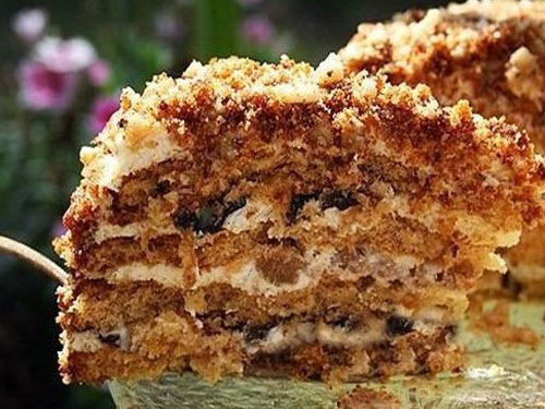 торт белочка простой рецепт с фото