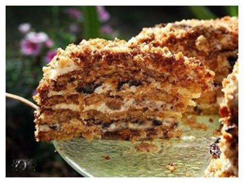 торт белочка самый простой рецепт